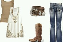Cowgirl Style / Cowgirl western ranch style