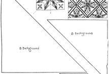 3- Quilt patterns , templates & applies / Quilts