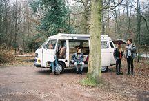 on my van