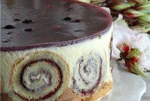 рецепты тортов, пирожных