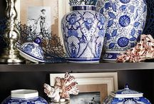 China blue deco