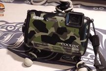 Nikon Coolpix AW120 / Nikon Coolpix AW120. THe kayak fishing work horse camera. Get it covered in fish slim, blood, saltwater, the Nikon AW120 doesn't care. It just keeps on snapping great close distance pics and video... with stereo sound.