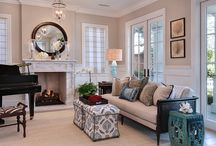 Living Rooms / Luxurious living room design, decor and paint inspiration.