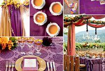 theme orange / violet