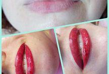 permanent-make-up lips