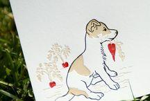 A Hundekort / Dog cards