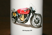 George Morgan Motorcycle Mugs