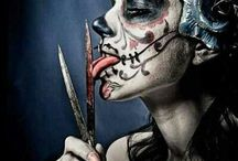 Viva la muerte / Tattoo,girl