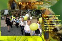 Publiczna Szkoła Podstawowa w Niedarczowie Wielki Dzień Pszczół