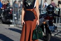 Street Style • Paris Fashion Week • Verão 2013 •