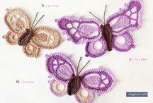 crotchet butterfly