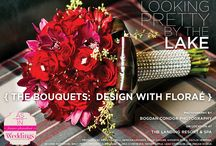 """Looking Pretty by the Lake {The Bouquets: Design with Floraé} / From the """"Looking Pretty by the Lake"""" Cover Model feature in the Summer/Fall 14 issue of Real Weddings Magazine, Photos by Bogdan Condor Photography, www.BogdanCondor.com © Real Weddings Magazine, www.realweddingsmag.com. Flowers by Design with Floraé, www.designwithflorae.com. Shot on location at The Landing Resort & Spa, www.thelandingtahoe.com. http://www.realweddingsmag.com/sacramento-wedding-flowers-looking-pretty-by-the-lake-the-bouquets-design-with-florae/"""
