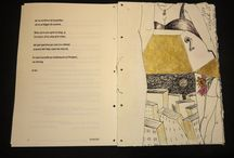 MY WORK.Carte bibliofila 3/Bibliophile book 3/ Livre bibliophile 3 / Cartea ca obiect frumos, obiect de arta, facuta manual, de la desene de executie si desene sau gravuri ca ilustratie, pana la legarea si copertarea manuala...