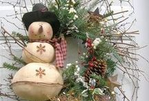 Christmas Wreaths, Pocket Hangers, Table Toppers & Shelf Sitters / by D Marie Bass-Keller
