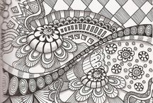 Doodle/zentangle/etc.