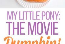 halloween makeup & unicorn pumpkins