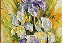 Oil Painting: Flowers