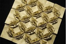 ~..~ Origami: Tessellations / Corrugations / by Cáu ~..~ Pano e Papel