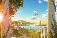 Percy Jackson & Herois do Olimpo / Neta de Poseidon :D ♡