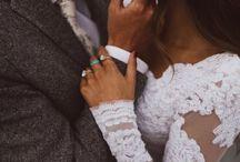 Romantische bruidsfoto's