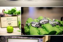 Apple Green and Chocolate Brown Wedding - For Ann