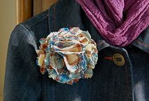 Fabric Flower / by Mary Lou Scales