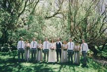 Wedding Bridal Party Inspiration