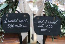 Scottish wedding decoration inspiration / Everything for a Scottish themed wedding !