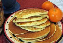 Oat cottagecheese pancakes