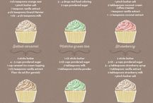♨Recipes♨|Frostings / Frostings for cakes or cupcakes