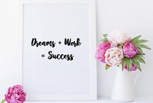 Quotes / Mindset and motivation quotes for use on Instagram and Pinterest!