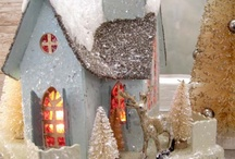 Little Glitter Houses / by Tracey Parker