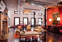 Loft living / by Frankie Hand