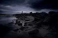 {create} mood board - dark, stormy beaches [MA final project] / by Desiree Goodall