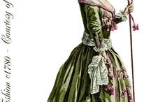 Fashion Plates 1700-1800