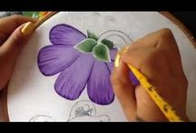 videos pintura en tela