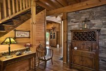 Corridors- Honest Abe Log Homes / This board is about the appearance corridors located in Log cabin or log homes. This is for people interested in a variety of corridors and the way they look in log cabin especially, Honest Abe Long Homes.