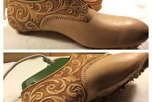Making Leather DIY Boots and shoes
