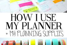 Callie Plans for Anything! / Planner supplies and organization