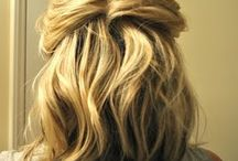 Hair for mother of groom