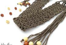 Crochet belts