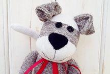 textil állatok - sewing