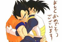 Goku x Vegeta :3