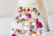 Hochzeitstorte / Torte und Nachtisch