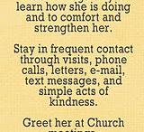 my church calling / by Sabrina Ruiz