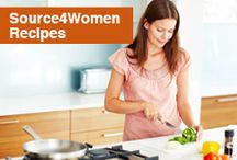 Source4Women Recipes / Great tasting recipes that won't rock your waist line. / by Source4Women