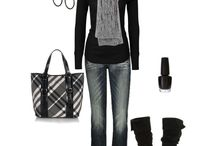 Clothes :) / Shoes / I luv BLACK!!! / by April Bethune