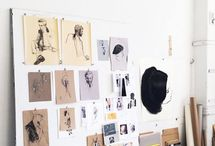 Workspace Inspiration For Creatives / Surround Yourself With Inspiring Things To Increase Your Creativity