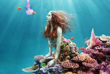 Mermaids / Mermaids are real if you close your eyes really tight u can nearly see them!