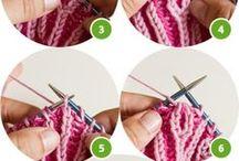brioche / brioche knitting brioche pletení chytové vzory